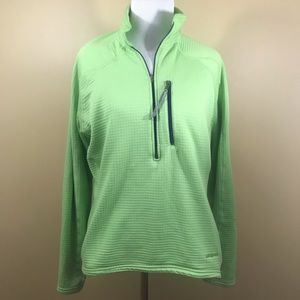Patagonia Women's Green Pullover Zip Medium